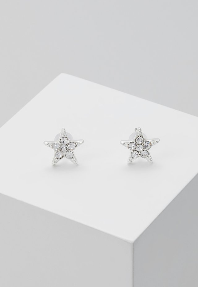 STAR SMALL EAR - Øredobber - silver-coloured