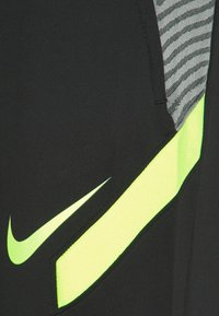 Nike Performance - DRY STRIKE PANT - Tracksuit bottoms - black/smoke grey/black/volt - 6
