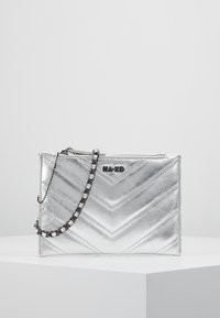 NA-KD - QUILTED - Clutch - silver - 0