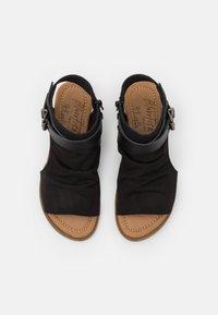 Blowfish Malibu - BALLA4EARTH - Ankle cuff sandals - blacksands - 4