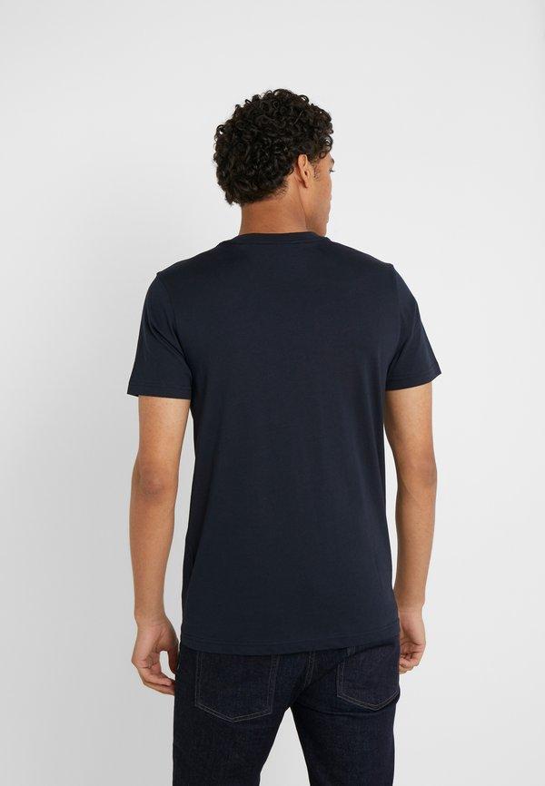 PS Paul Smith SLIM FIT MONKIES - T-shirt z nadrukiem - navy/granatowy Odzież Męska MQPD
