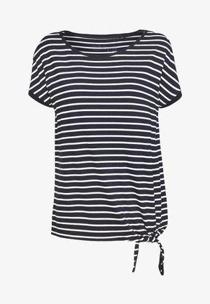 KURZARM - Camiseta estampada - navy