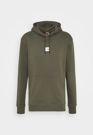 GRAPHIC HOOD - Hoodie - new taupe green