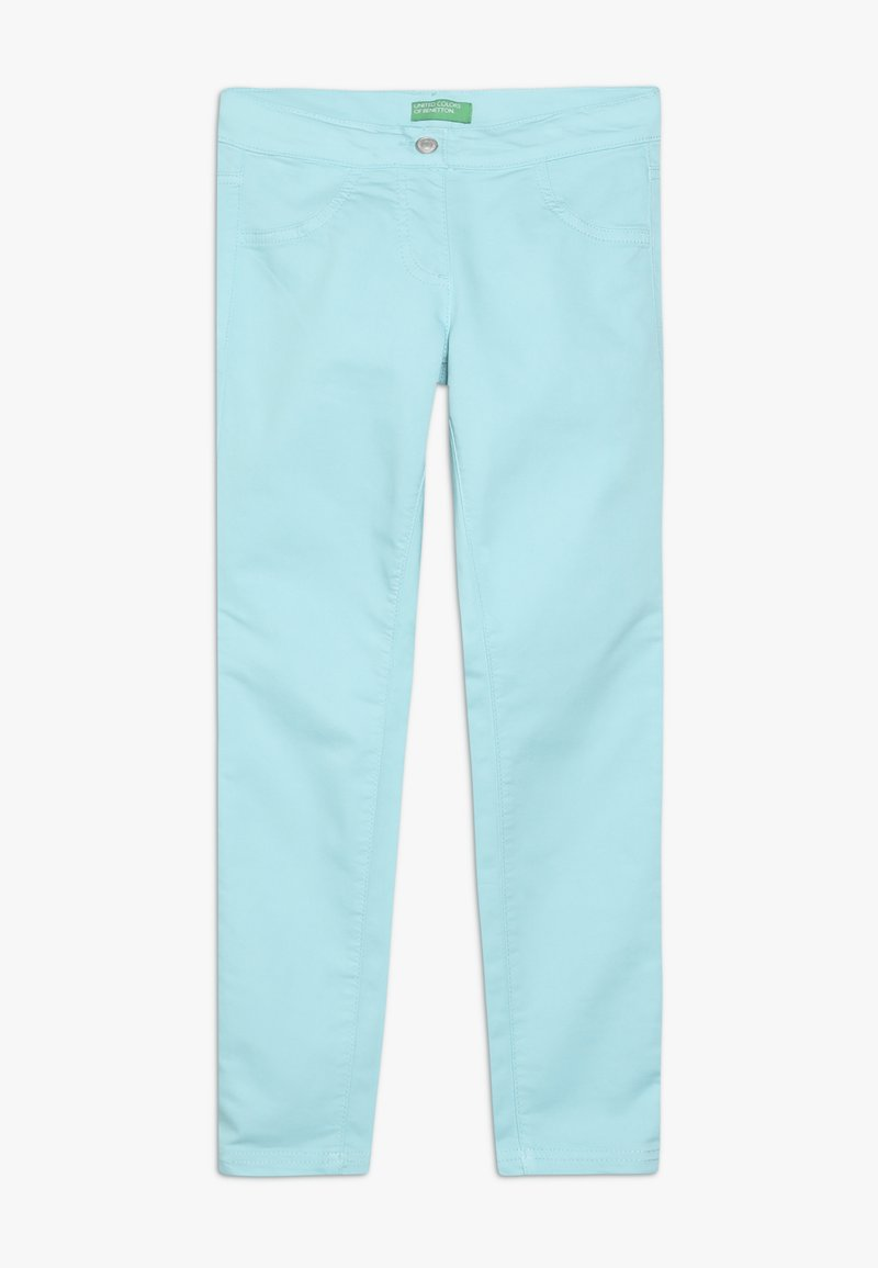 Benetton - TROUSERS - Skinny džíny - light blue