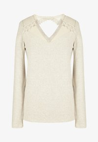 NAF NAF - Long sleeved top - beige - 3