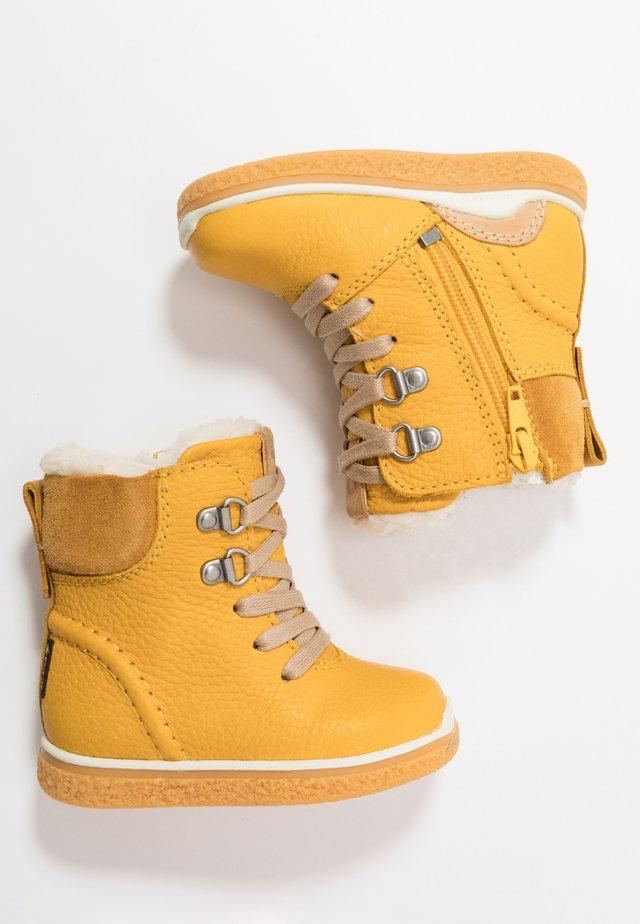 MINI - Lace-up ankle boots - merigold/oak
