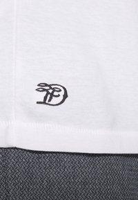 TOM TAILOR DENIM - 3 PACK - T-shirt basic - light stone/grey melange - 7