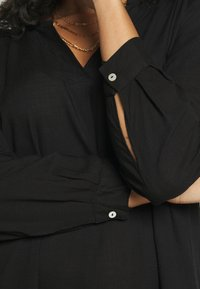 Zizzi - KNEE DRESS - Day dress - black - 5