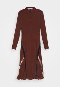 See by Chloé - Shirt dress - sepia brown - 5