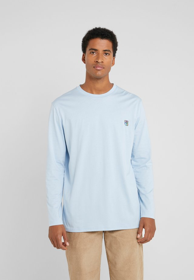 DAVID - Long sleeved top - blue