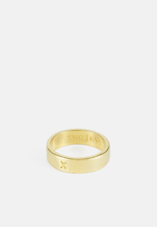 X RING UNISEX - Ring - gold-coloured