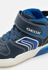 Geox - GRAYJAY BOY - High-top trainers - navy/royal - 5