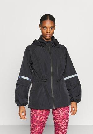 MISSION JACKET - Waterproof jacket - black