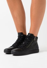 Geox - BLOMIEE - High-top trainers - black - 0