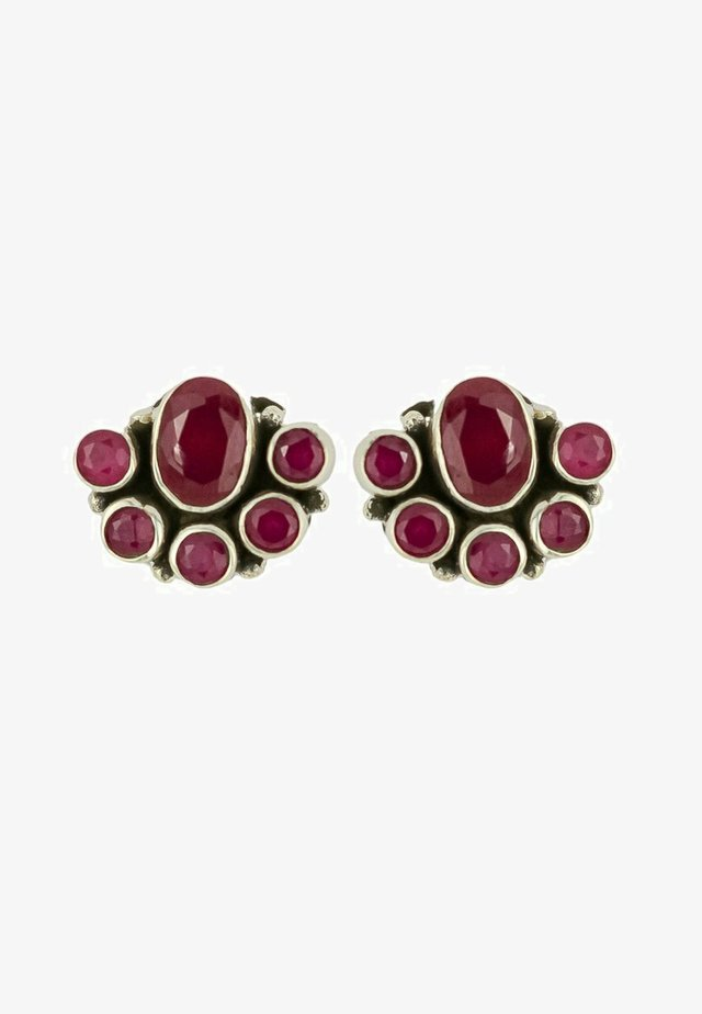 BLOSSOM  - Boucles d'oreilles - red