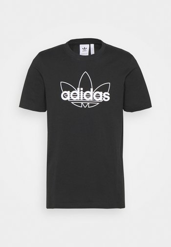 GRAPHIC UNISEX - T-shirts print - black/white