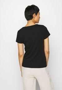 Soyaconcept - PYLLE - Basic T-shirt - black - 2