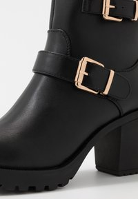 Anna Field Wide Fit - Platform ankle boots - black - 2