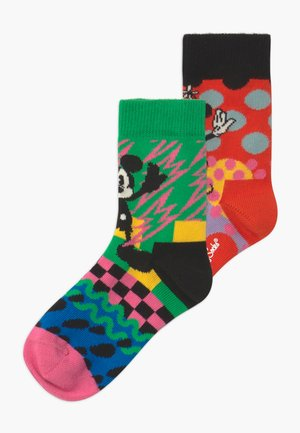 DISNEY MICKEY & MINNIE 2 PACK - Socks - multi-coloured