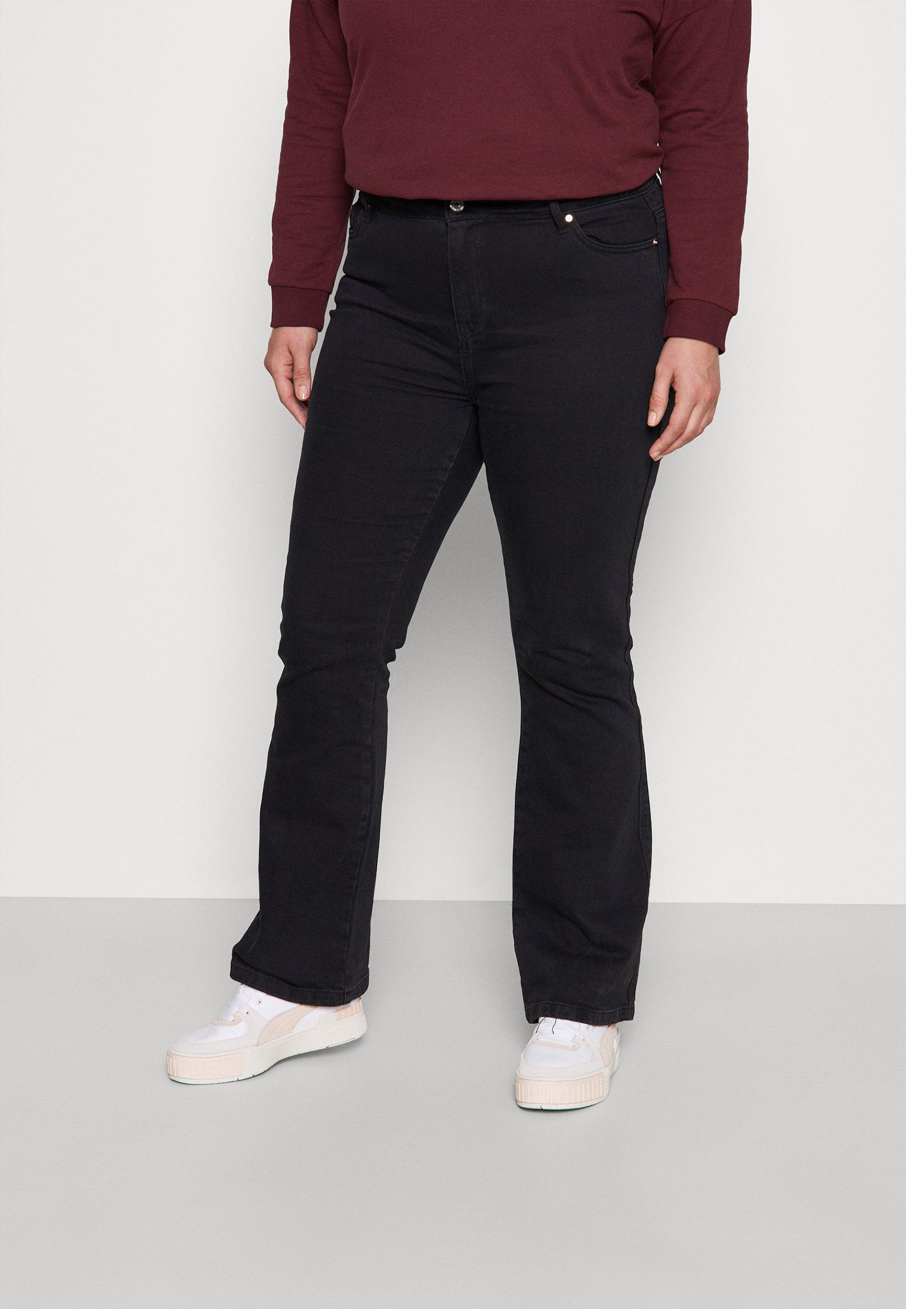 Damer VMSAGA - Flared jeans