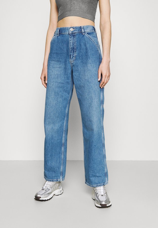 JUNO - Jeans Relaxed Fit - mid vintage