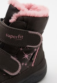 Superfit - CRYSTAL - Winter boots - braun/rosa - 5