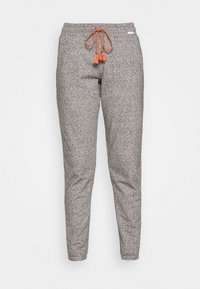 Skiny - DAMEN HOSE LANG SUNDOWN DESERT SLEEP - Pyjama bottoms - vulcangrey melange - 3