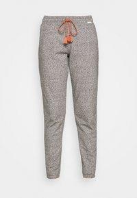 DAMEN HOSE LANG SUNDOWN DESERT SLEEP - Pyjama bottoms - vulcangrey melange