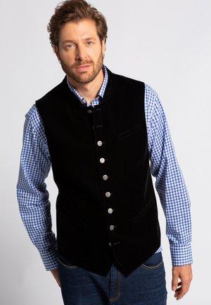 Suit waistcoat - zwart