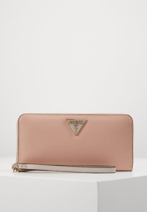 BECCA LARGE ZIP AROUND - Lommebok - blush