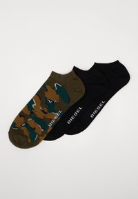 Diesel - SKM-GOST 3 PACK - Calze - black/green - 0