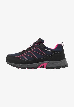 RIPPER LOW WP WOMENS - Hiking shoes - navy/black/magenta
