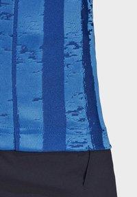 adidas Performance - Print T-shirt - blue - 8