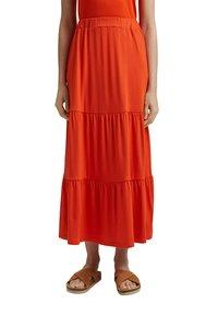 Esprit - A-line skirt - orange red - 0