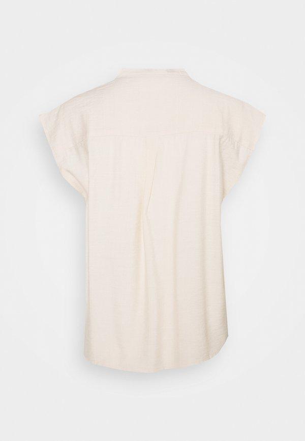 ONLY ONLJOSEY V NECK - T-shirt basic - ecru/beżowy SODJ