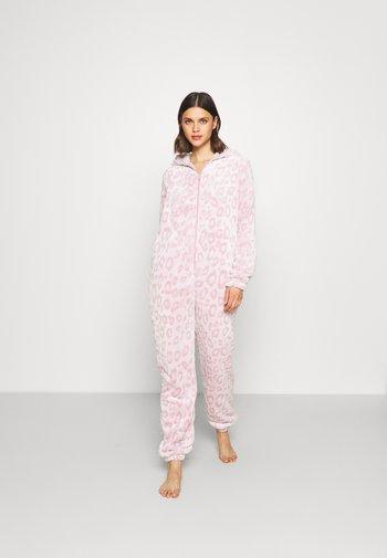 LEOPARD LUXURY - Pyjamas - pink