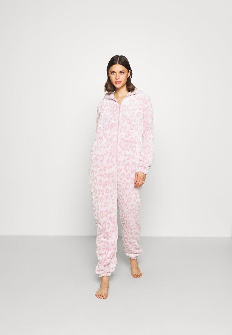 Loungeable - LEOPARD LUXURY - Pyjamas - pink