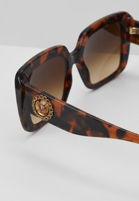 Versace - Sunglasses - mottled black - 4