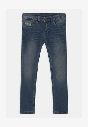 THOMMER UNISEX - Slim fit jeans - blue denim