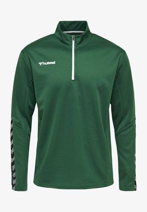 HMLAUTHENTIC - Sweatshirt - evergreen