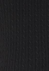 Anna Field MAMA - cable knitted jumper co-ord - Strikkegenser - black - 2