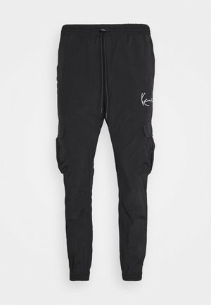 SIGNATURE TRACKPANTS UNISEX - Verryttelyhousut - black