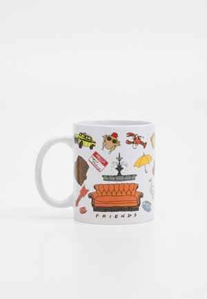 ANYTIME MUGS 4 PACK - Jiné - white/orange/yellow