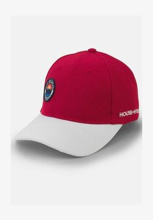 SUNSET - Cap - Rød og Hvit
