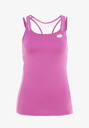 TENNIS TECH TANK 2-IN-1 - Sports shirt - purple willow