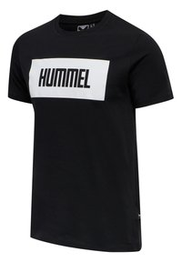 Hummel - 2-PACK - Print T-shirt - black/white - 4