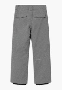 Icepeak - LACON UNISEX - Zimní kalhoty - light grey - 1