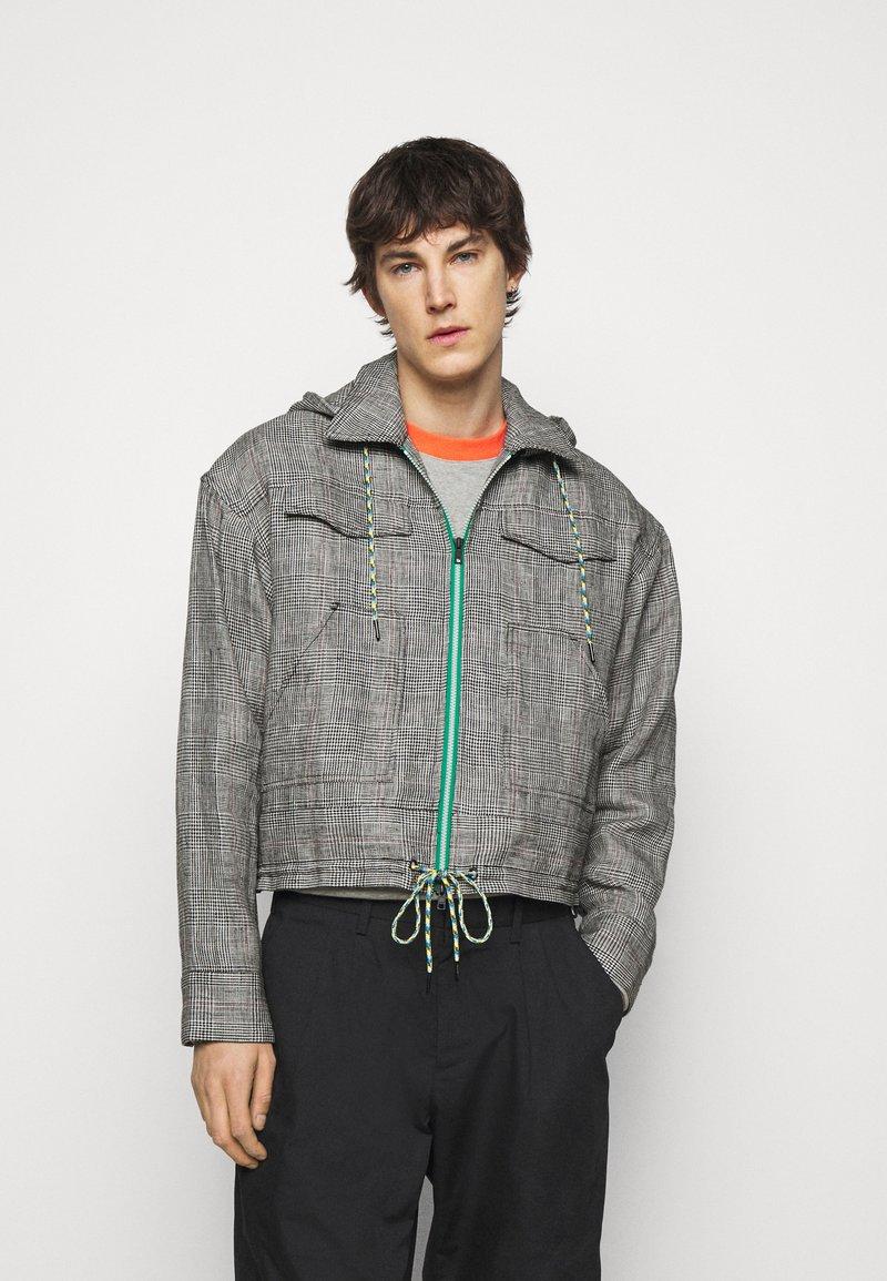 Viktor&Rolf - THE PRINCE OF WALES KANGAROO JACKET - Summer jacket - grey