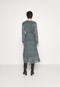 Fabienne Chapot - NATASJA FRILL DRESS - Day dress - dusty blue/taupe - 2