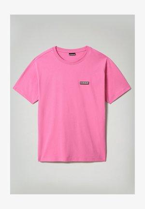 S-PATCH SS - Basic T-shirt - pink super